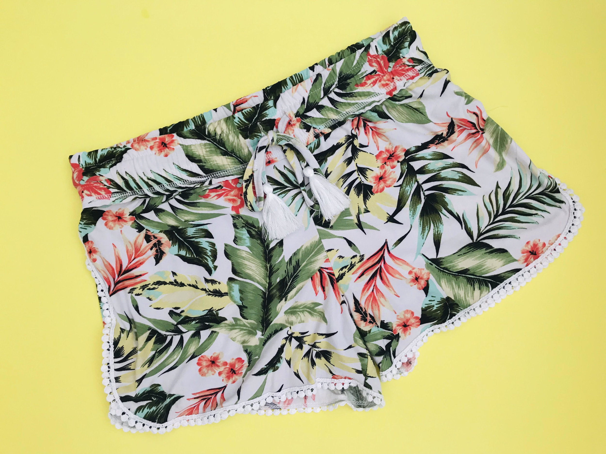 4. Floral Shorts - Found at one of my favorite stores to explore in my hometown, Gabriel Brothers. I used to love going here in high school and finding cheap, unique items. There's a Gabe's here in Columbus now in Dublin!Price: $5.99Gabriel Brothers