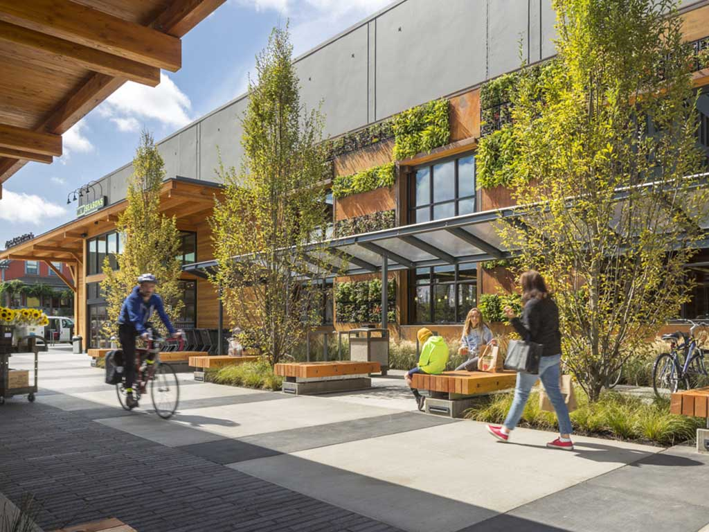 Support the Historic Downtown Core - and it's civic, cultural, and retail uses by providing a close-in location accommodating commercial, residential, and other uses demanded by Bend's rapid growth.