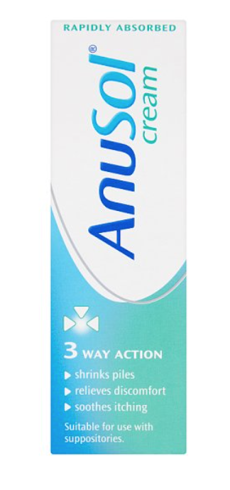 ( Rebecca : Sorry I cannot believe this product is called Anusol and THAT - is why it's included)