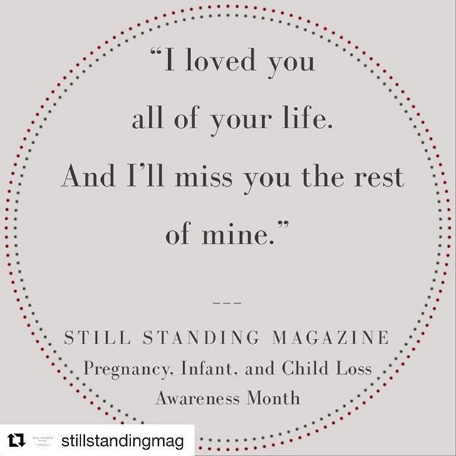 #Repost @stillstandingmag with @get_repost ・・・ Who are you missing this month? • • #1in4 #1in8 #infertility #infantloss #babyloss #miscarriageawareness #ihadamiscarriage #neonatalloss #mybabydied #grief #sids #stillborn #stillbirth #grief #bereavedmother #childloss  #pregnancyandinfantlossawareness #tfmr #dadsgrievetoo #mamagrief #bereavedparents #adultchildloss #pals #bereavedfather #lifeafterloss #pregnancyafterloss #babylossawareness  #weneedtotalkaboutbabyloss #breakingthesilence #pregnancyandinfantlossawarenessmonth