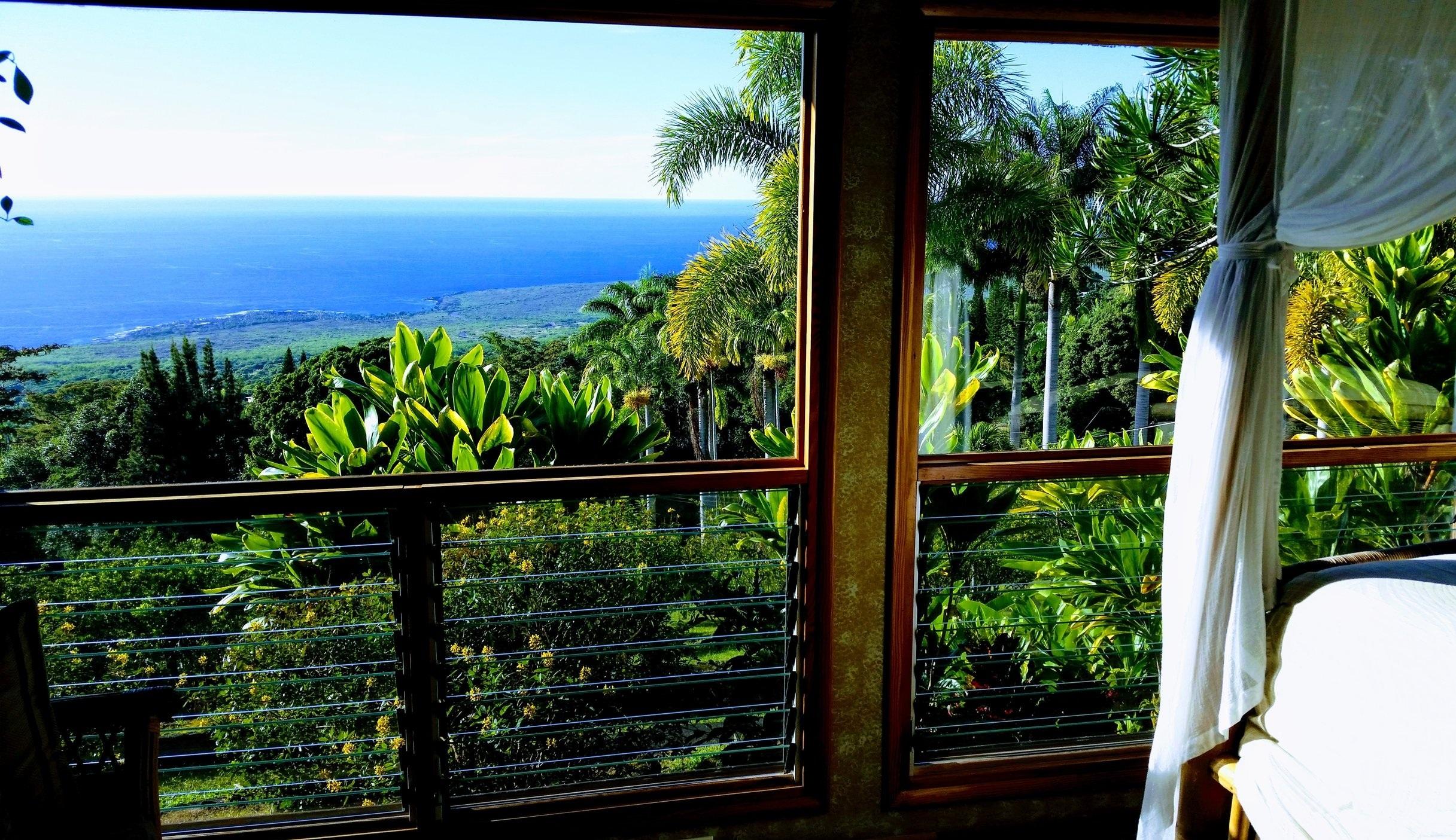 View of Honaunau Bay from the Kohola Room!
