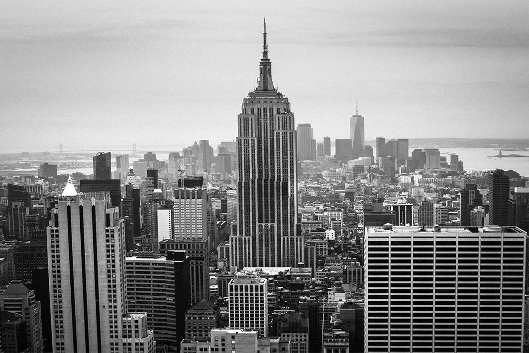 Downtown NYC from the Top of the Rock