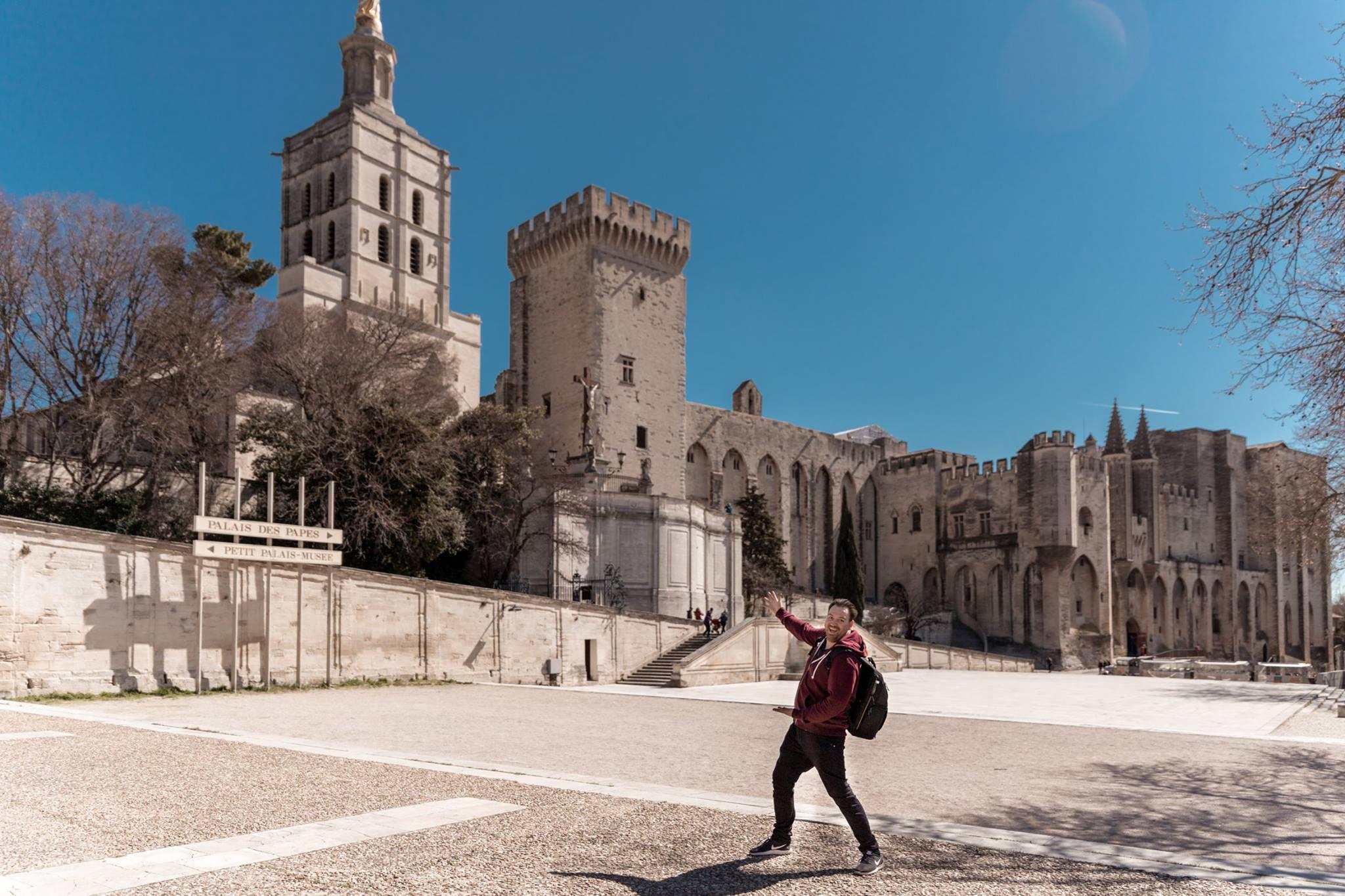 Exploring Avignon, France for the NS.