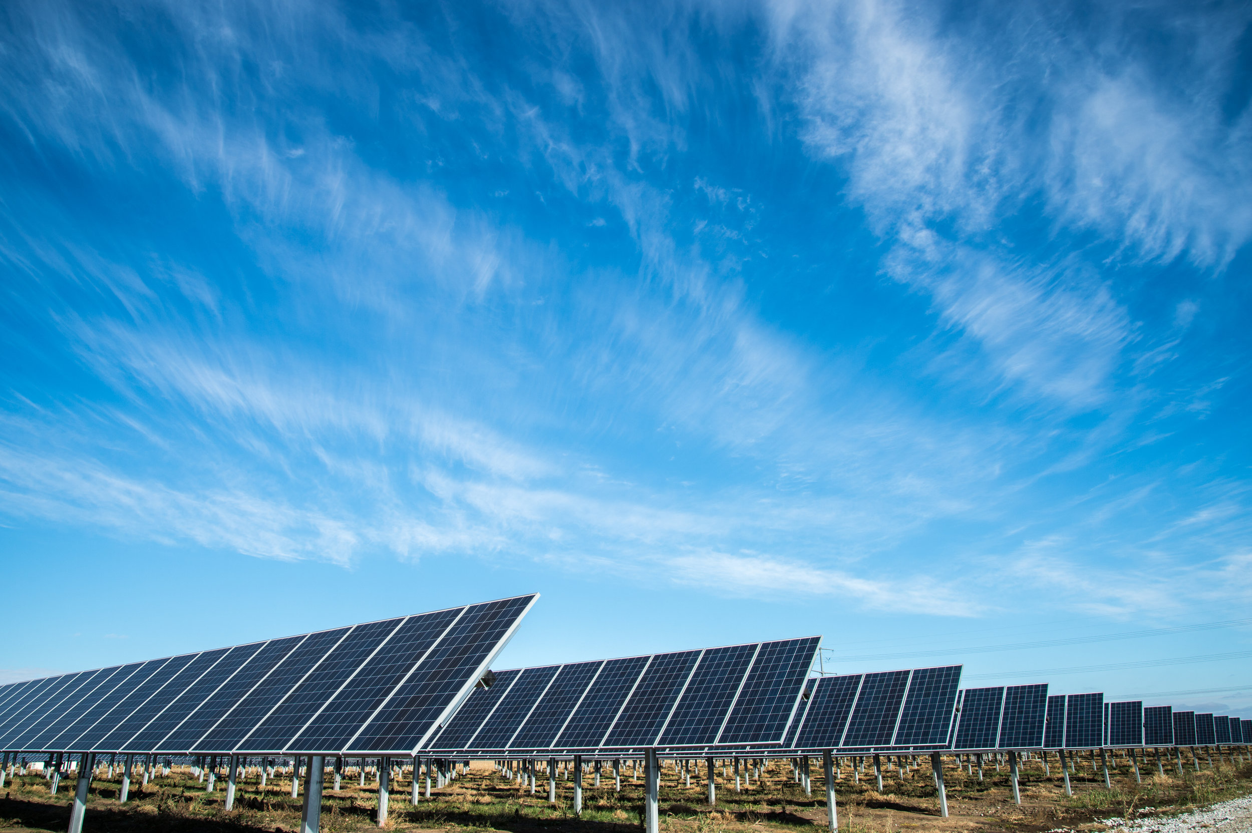 Solar farm in East Africa supported in part by Liquidnet for Good impact investing