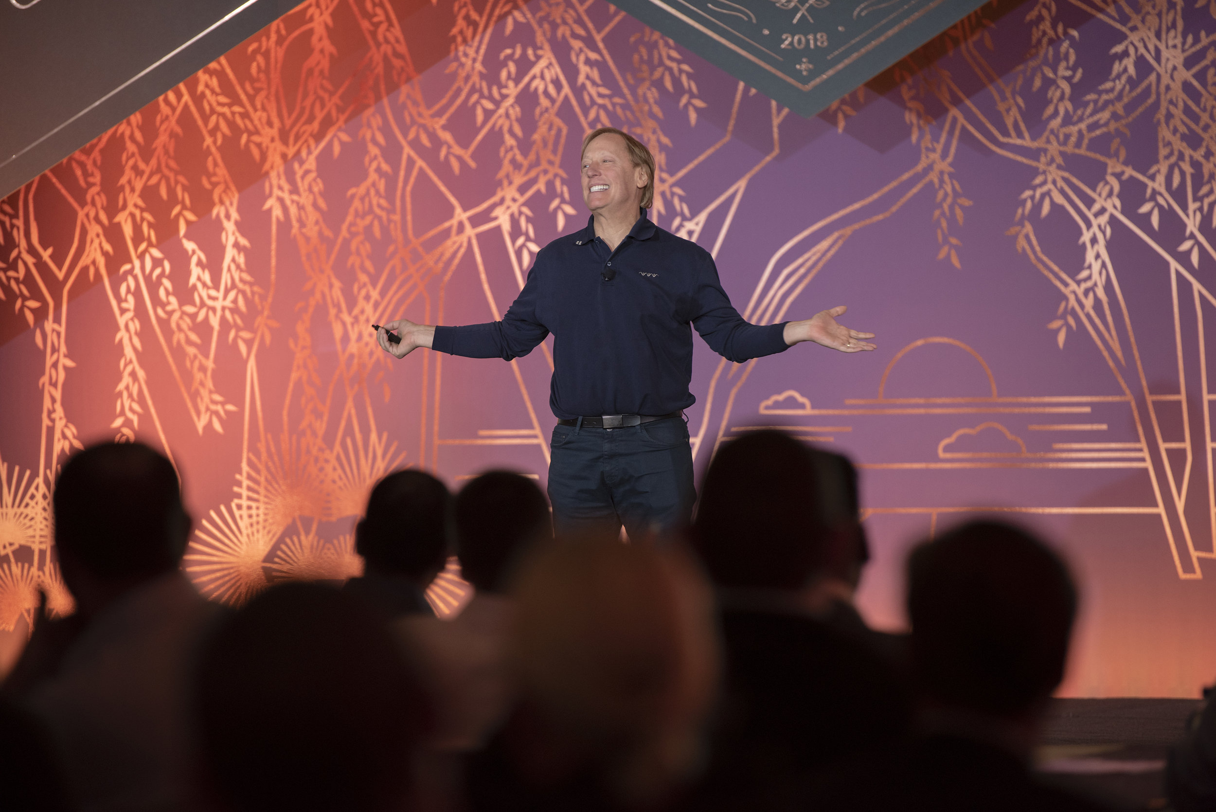 Seth Merrin presenting at Liquidnet trading summit 2018