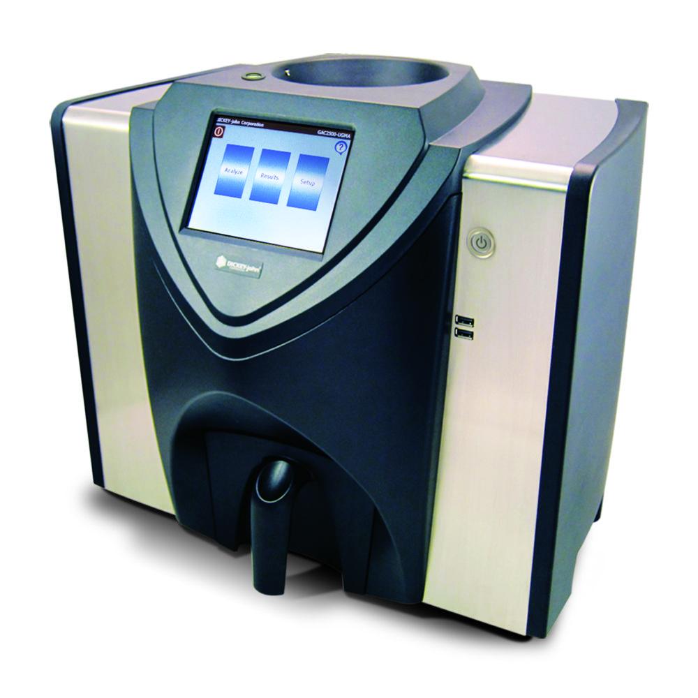 GAC 2500-INTL - Analizador de humedad multilenguaje de alta precisión.