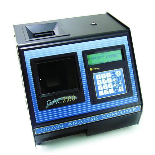 GAC 2100bsa - Similar al 2100b sin la tolva con el detector automático de nivel de grano.
