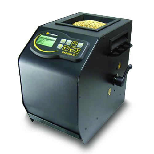GAC 500 XT - Diseño compacto y portátil que permite analizar el grano desde cualquier de la granja.
