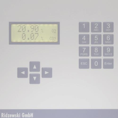Analizadores de oxígeno / Ridzewski -