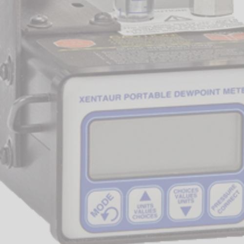 Analizador de punto de rocio / Cosa + Xentaur -