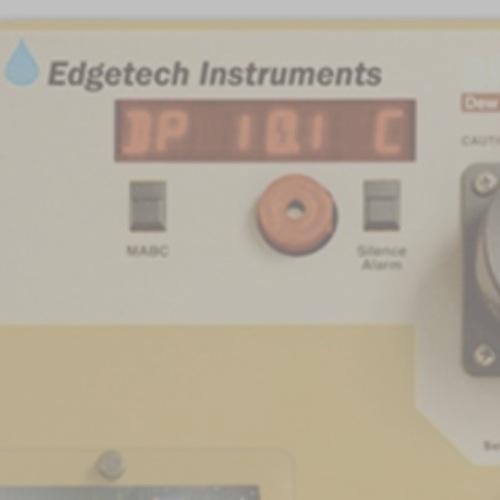 Analizadores de punto de rocio / Edgetech -