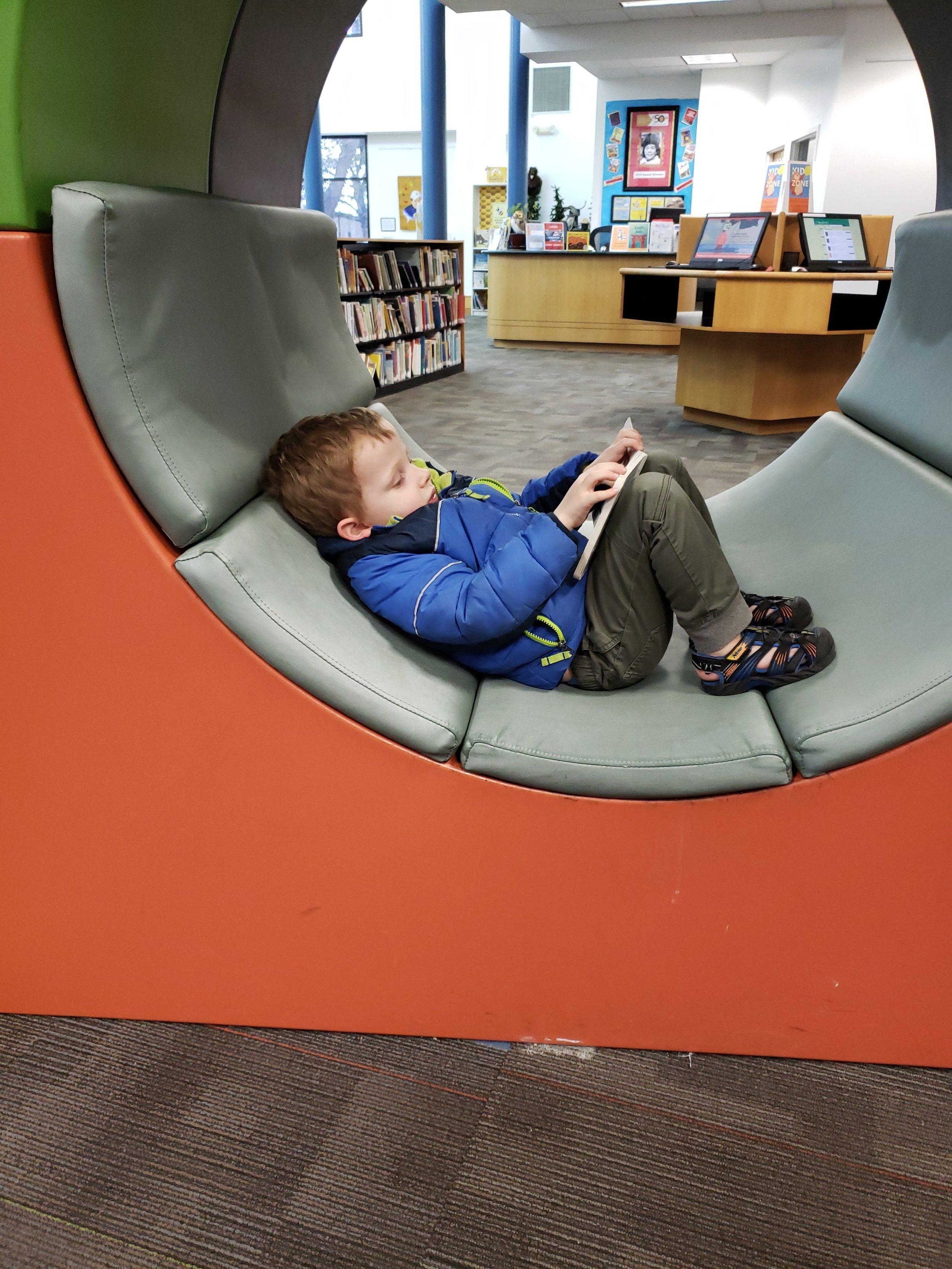 Fun reading areas