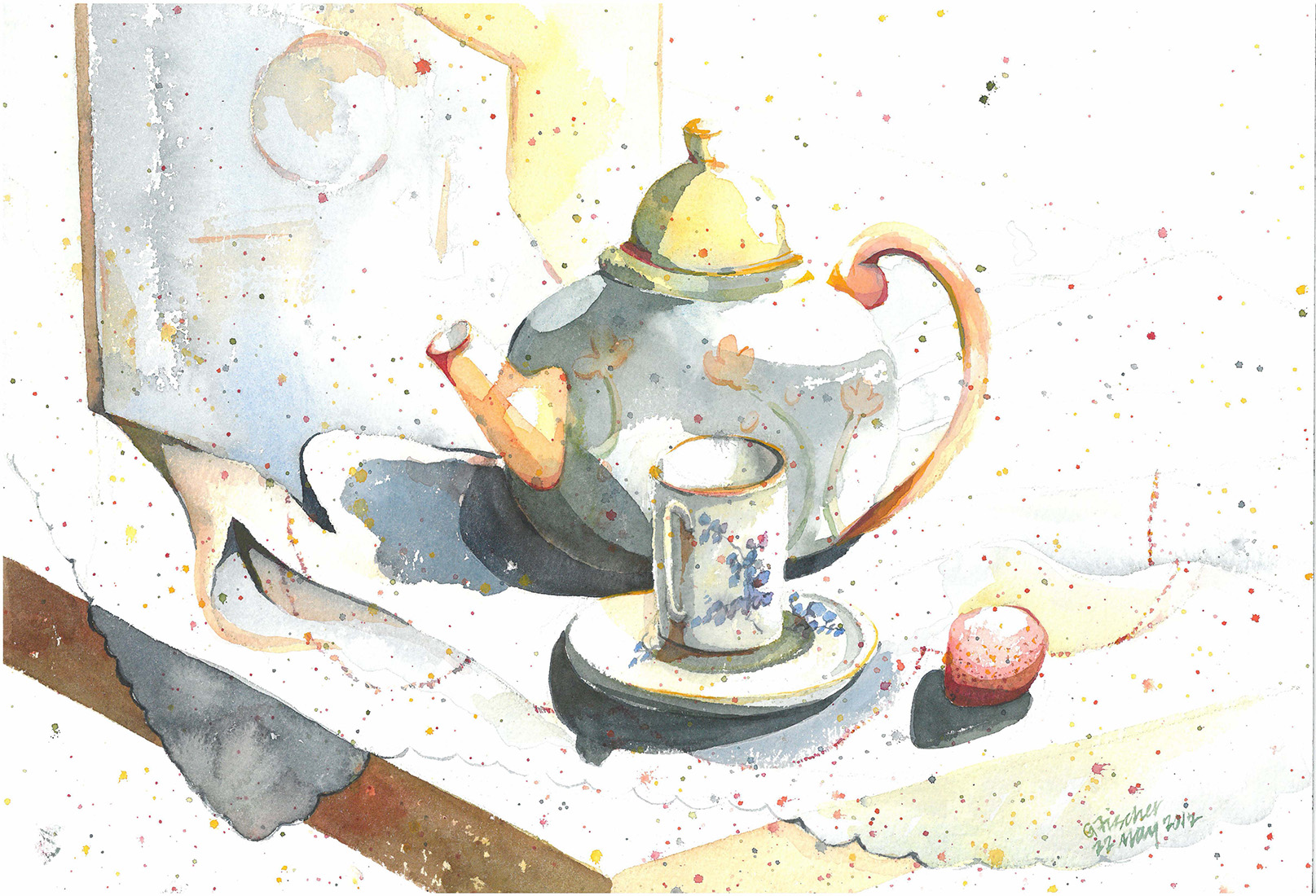 Tea & Strawberry