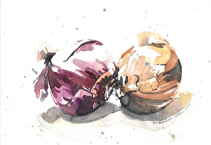 Kissing Onions II