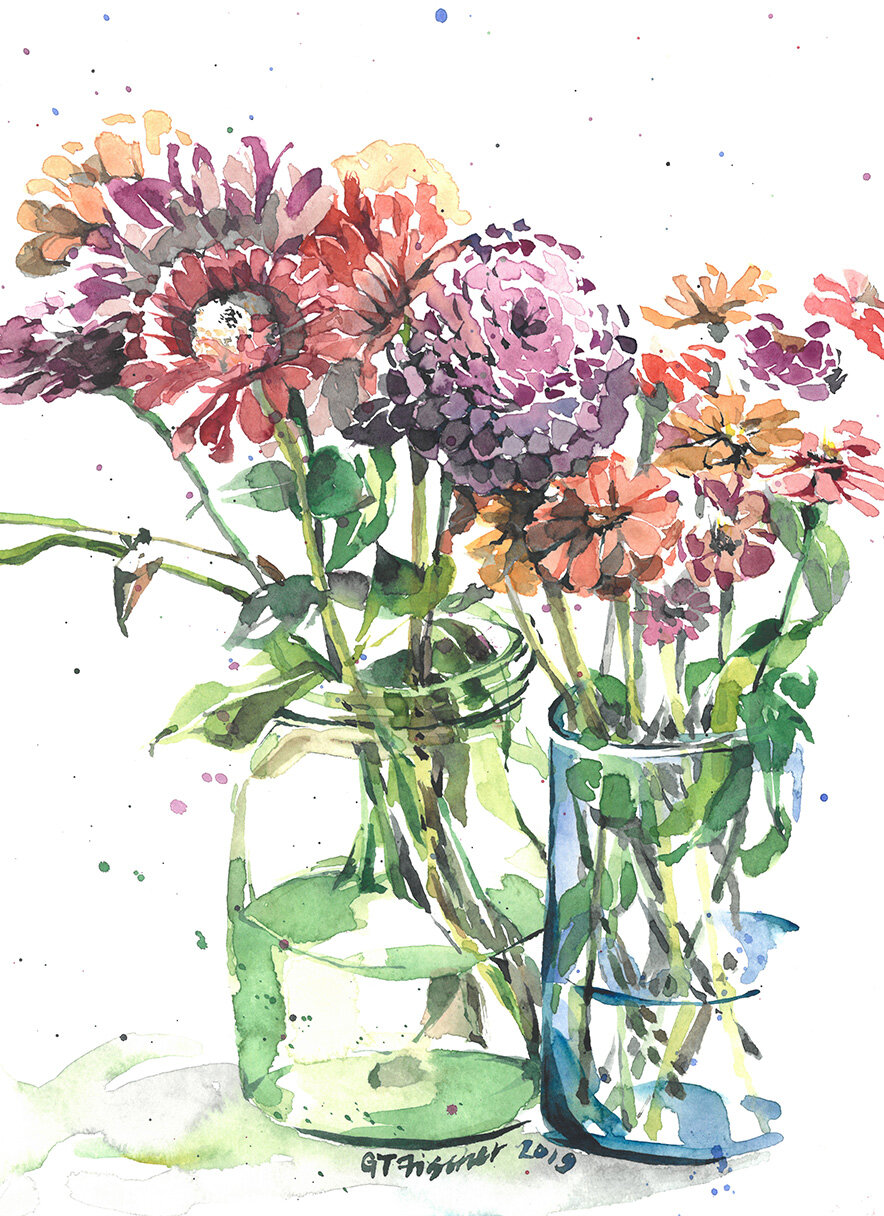 Flowers from Friends