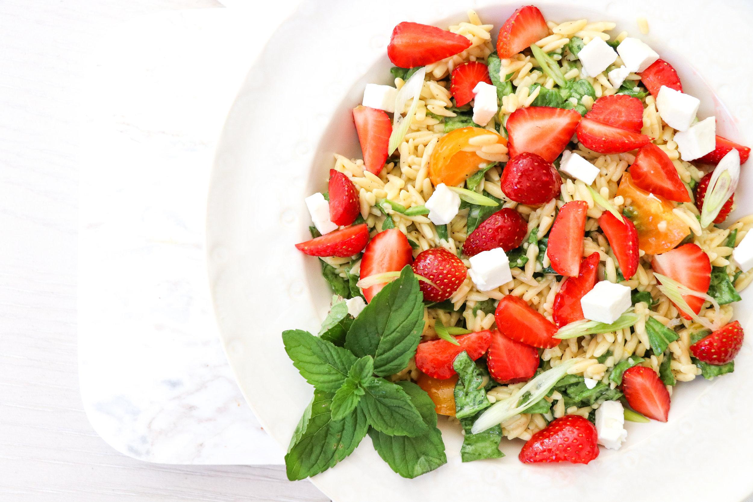 TLBS Orzo Salad