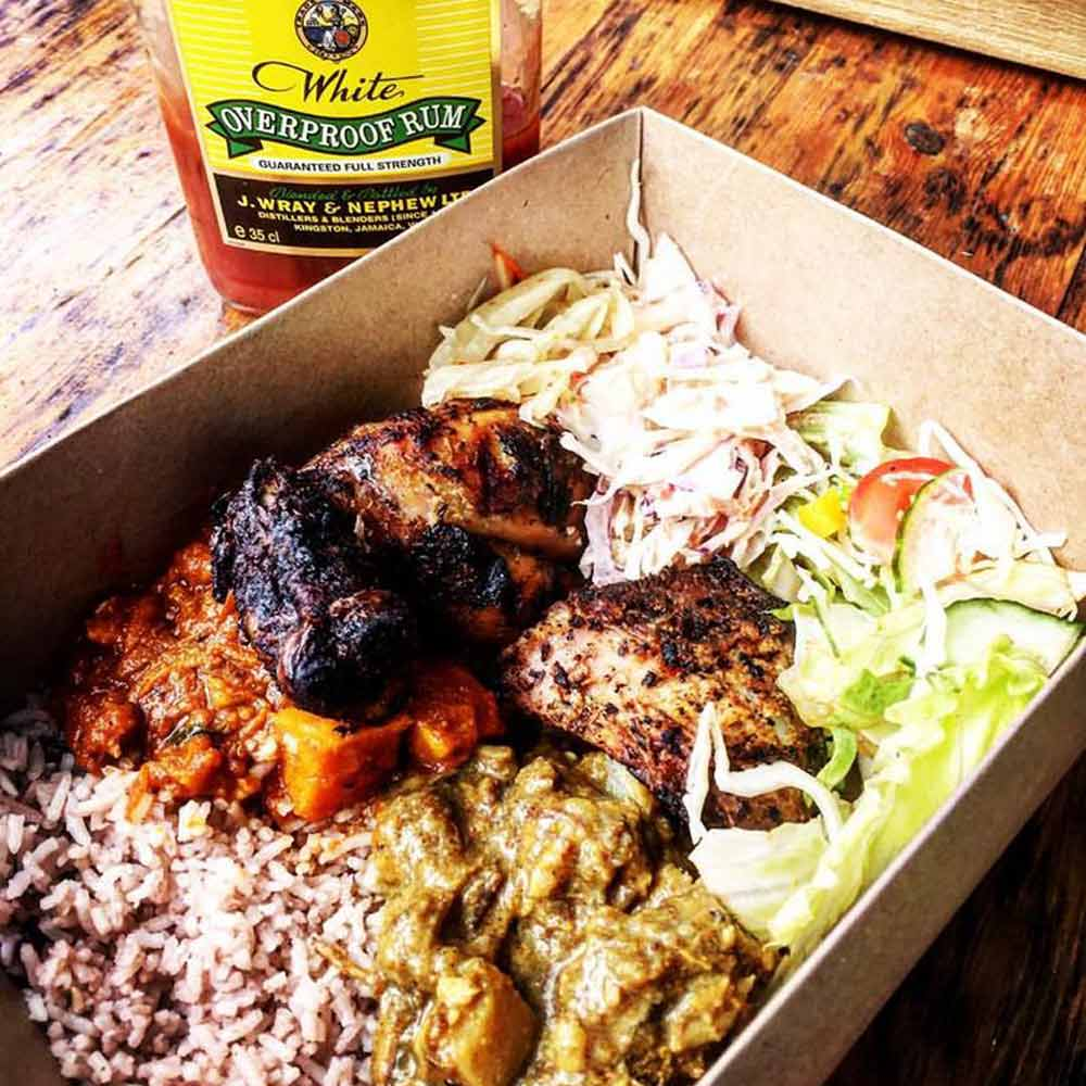 BOX FOOD - Fiery and sophisticated Caribbean and Asian flavours! From vegan and plant-based dishes to gluten or dairy free, Boxfood always create something delicious and nutritious.