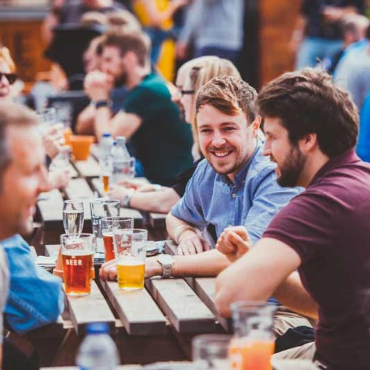 Beer + Brewery Courtyard - The heart of the festival is the Beer & Brewery Courtyard, featuring some of the best local breweries and a busking stage to keep you entertained!