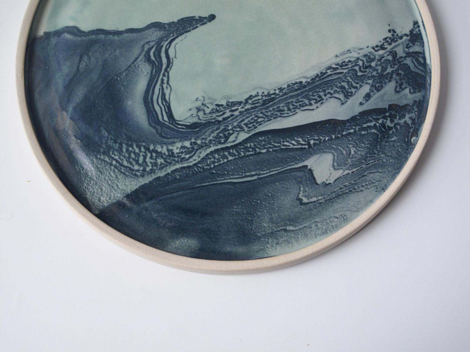 Marbled Platter  | £48 | ⌀29cm
