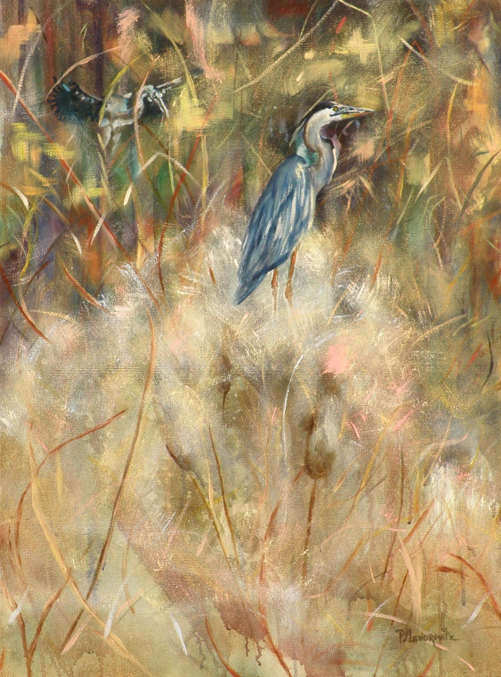 Blue Heron Dusk