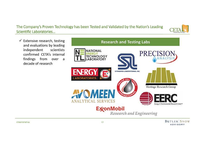 CETA Innovative Energy Technologies — New Orleans Equity Partners
