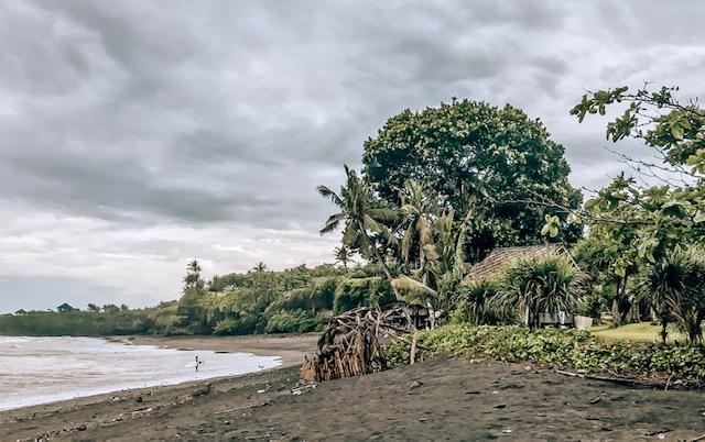 Black Beaches, West side of Bali- Best surfing beaches