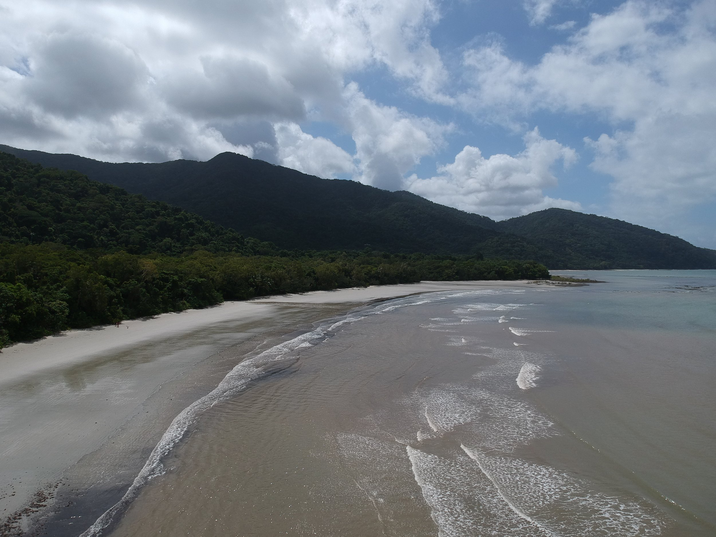 Cape Tribulation and Thornton Beach are worth stopping at!