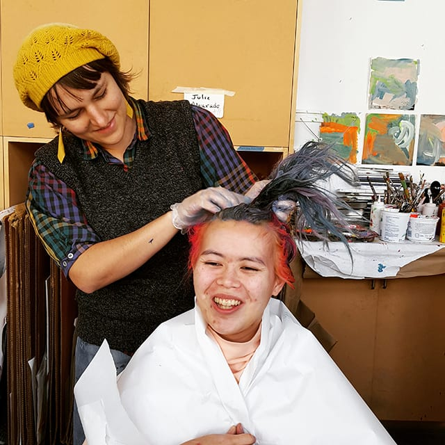 Copy of Studio-Instructor-Madelyn-Covey-with-artist-Stephanie-Nguyen.jpg
