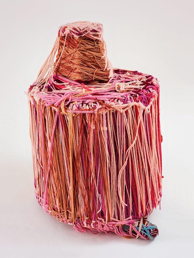 Judith Scott, Untitled (JS023), 2004, Mixed media, 21x16x16 inches