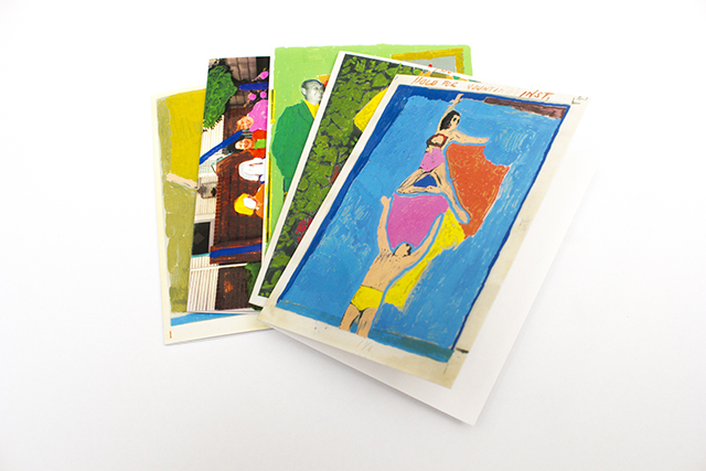 This new card pack features designs based on  Alice Wong 's vibrantly reworked found photographs