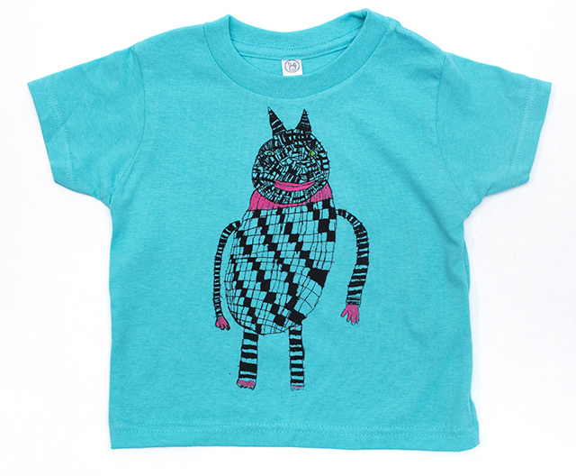 Toddler and Infant tee shirts, design by Creative Growth artist  Barbara Mealey
