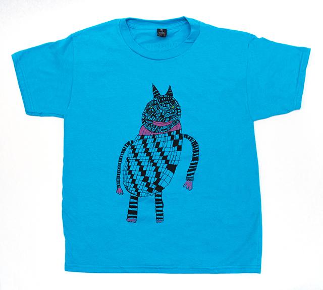 Youth tee shirt, design by Creative Growth artist  Barbara Mealey