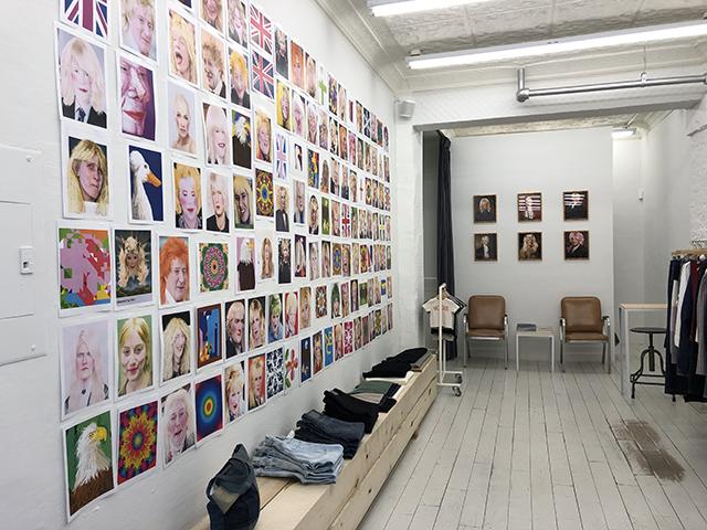 Terri Bowden installation at 6397, February 8 – March 29, 2019. Photo courtesy of 6397.