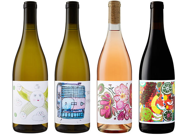 Jolie-Laide Wines 2019 Spring Release Featuring Artwork by Aurie Ramirez, John Mullins, Rosena Finister, and Julie Swartout