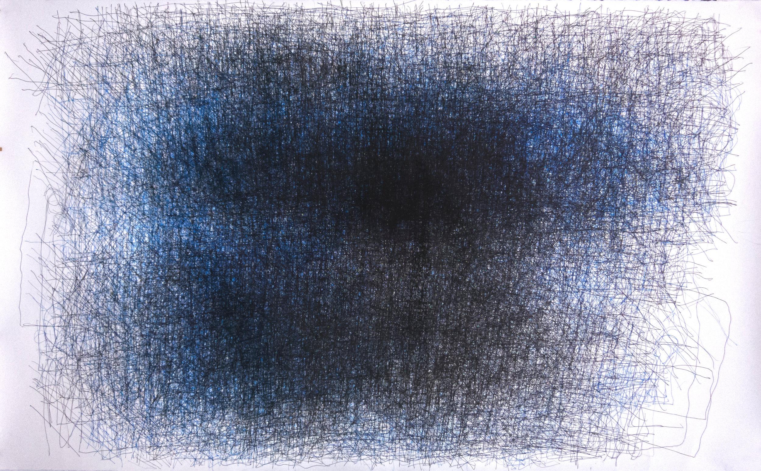 Dan Miller, Untitled (DM 257), 2016, 52 x 85 inches
