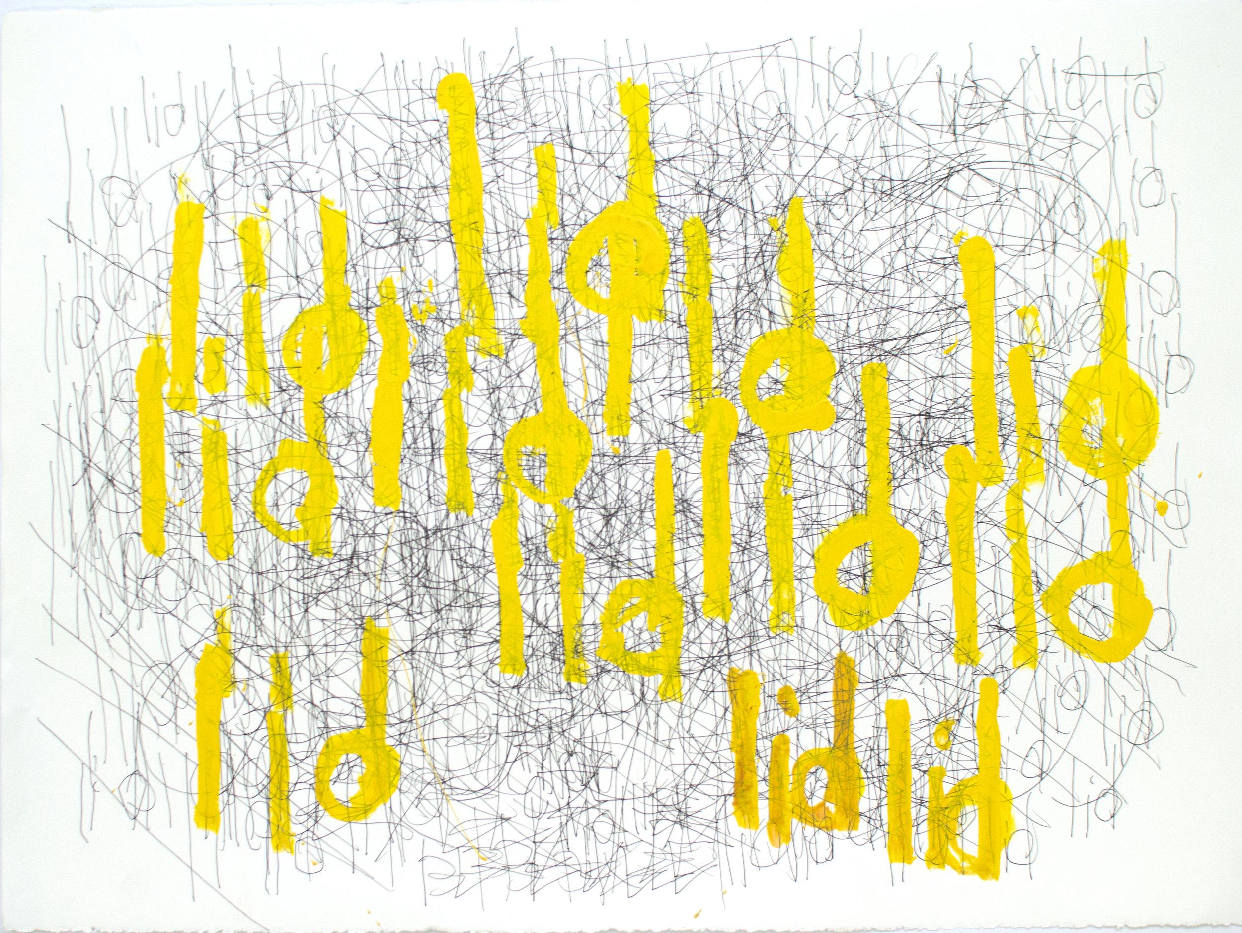 Dan Miller, Untitled (DM 897), 2017, 22.25 x 30 inches