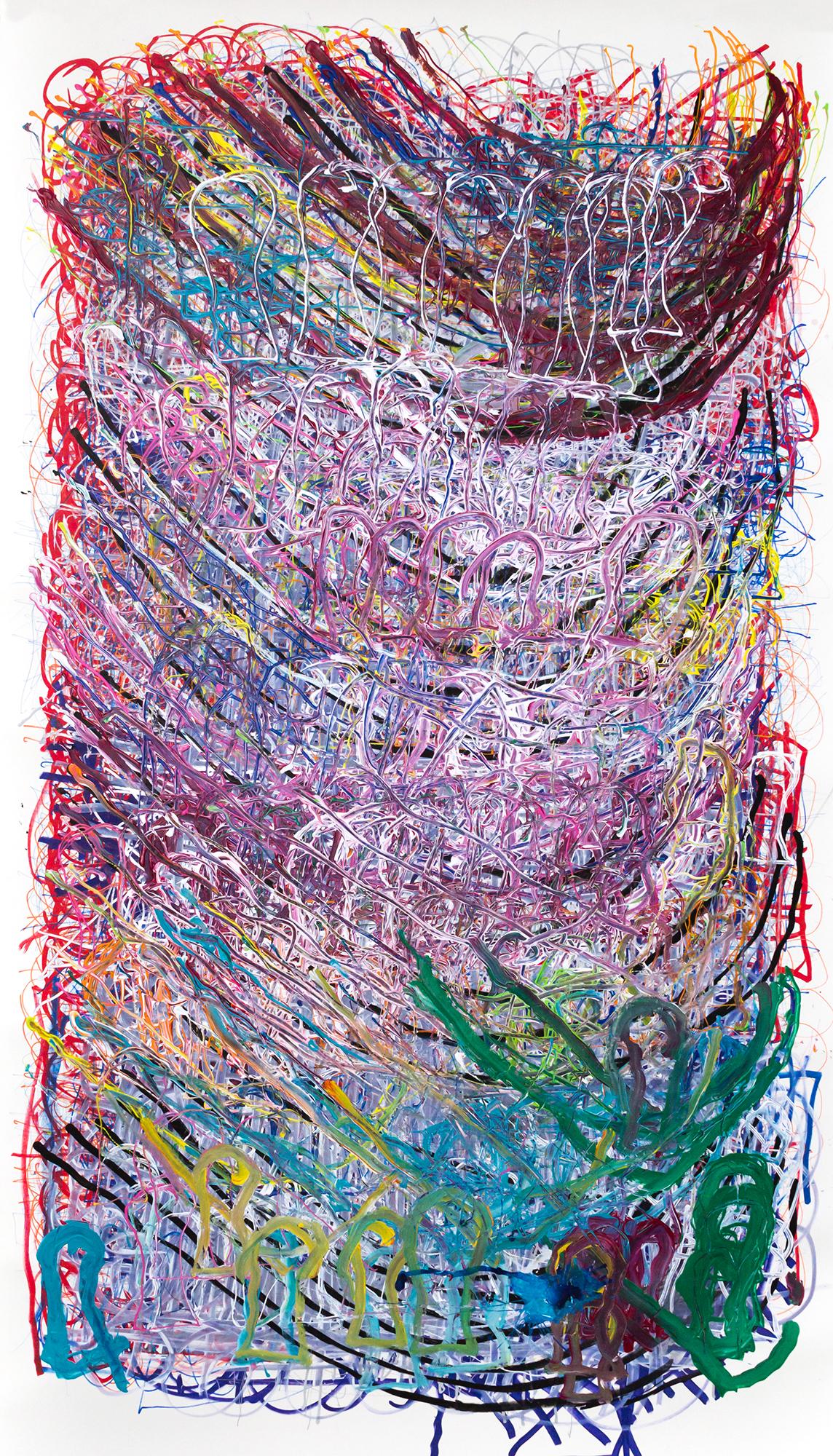 Dan Miller, Untitled (DM 1102), 2019, 55.75 x 98 inches