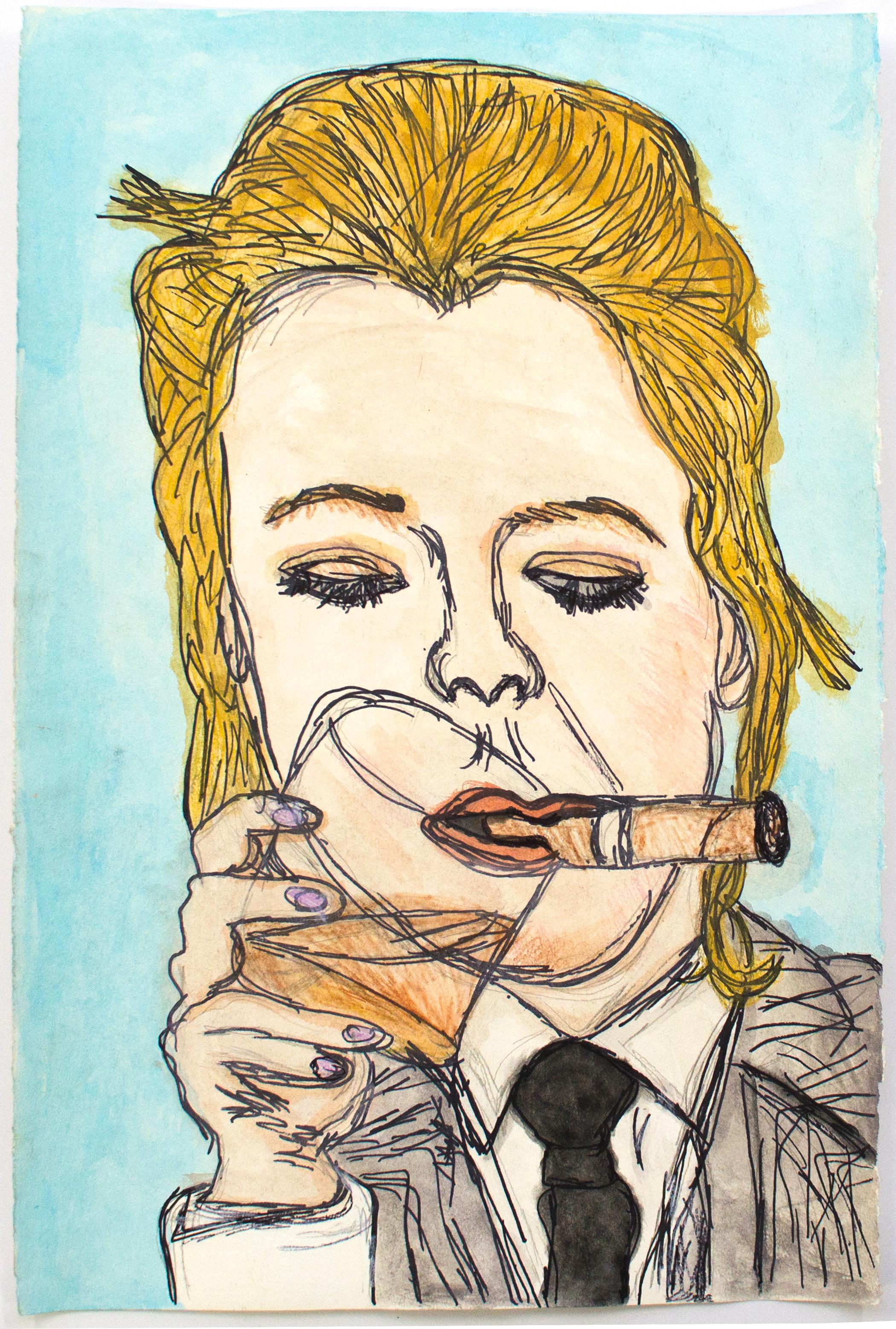 Kim Clark, Untitled (KC 98), 13.125 x 20 inches