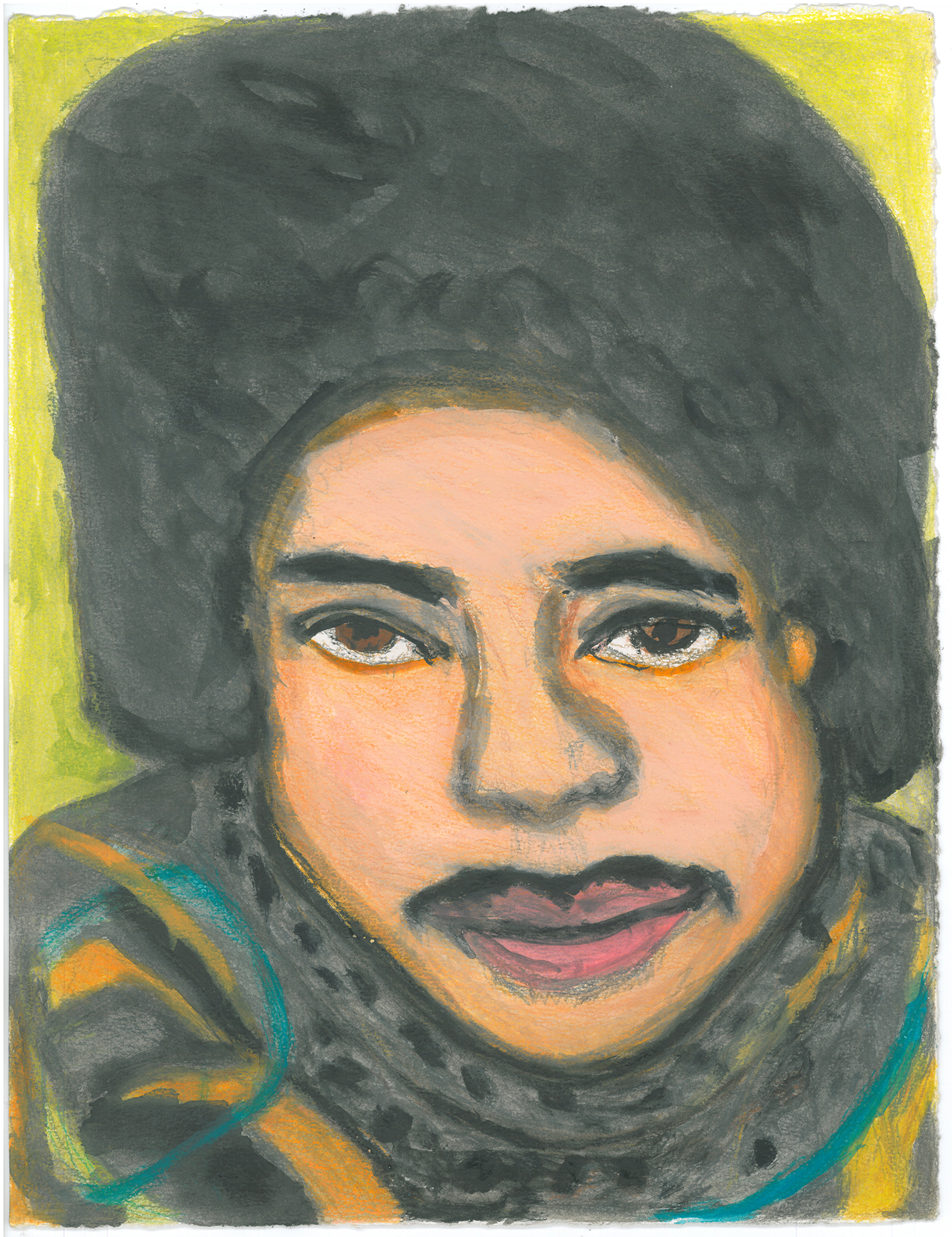 Kim Clark, Untitled (KC 97), 10 x 13.125