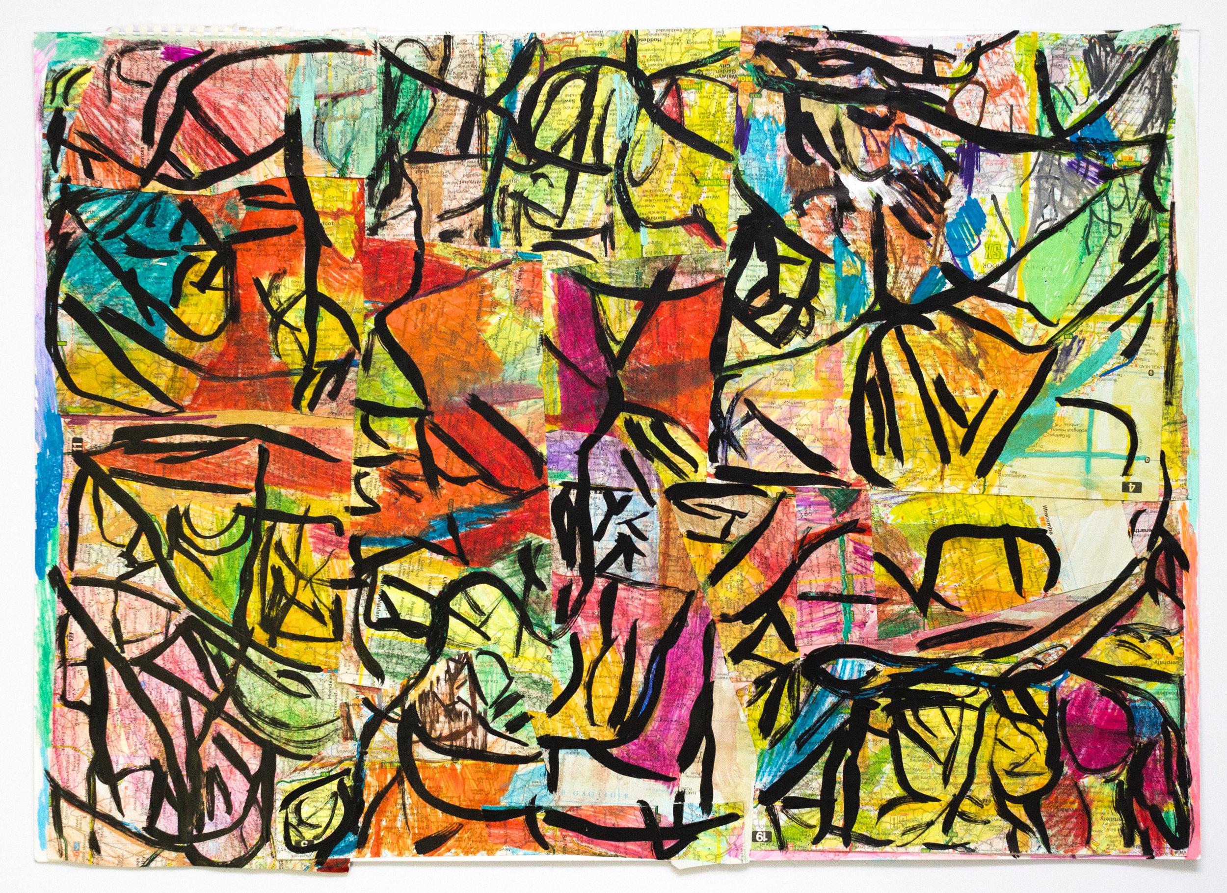 Paulino Martin, Untitled (PM 098), 2018, 20 x 27.5 inches