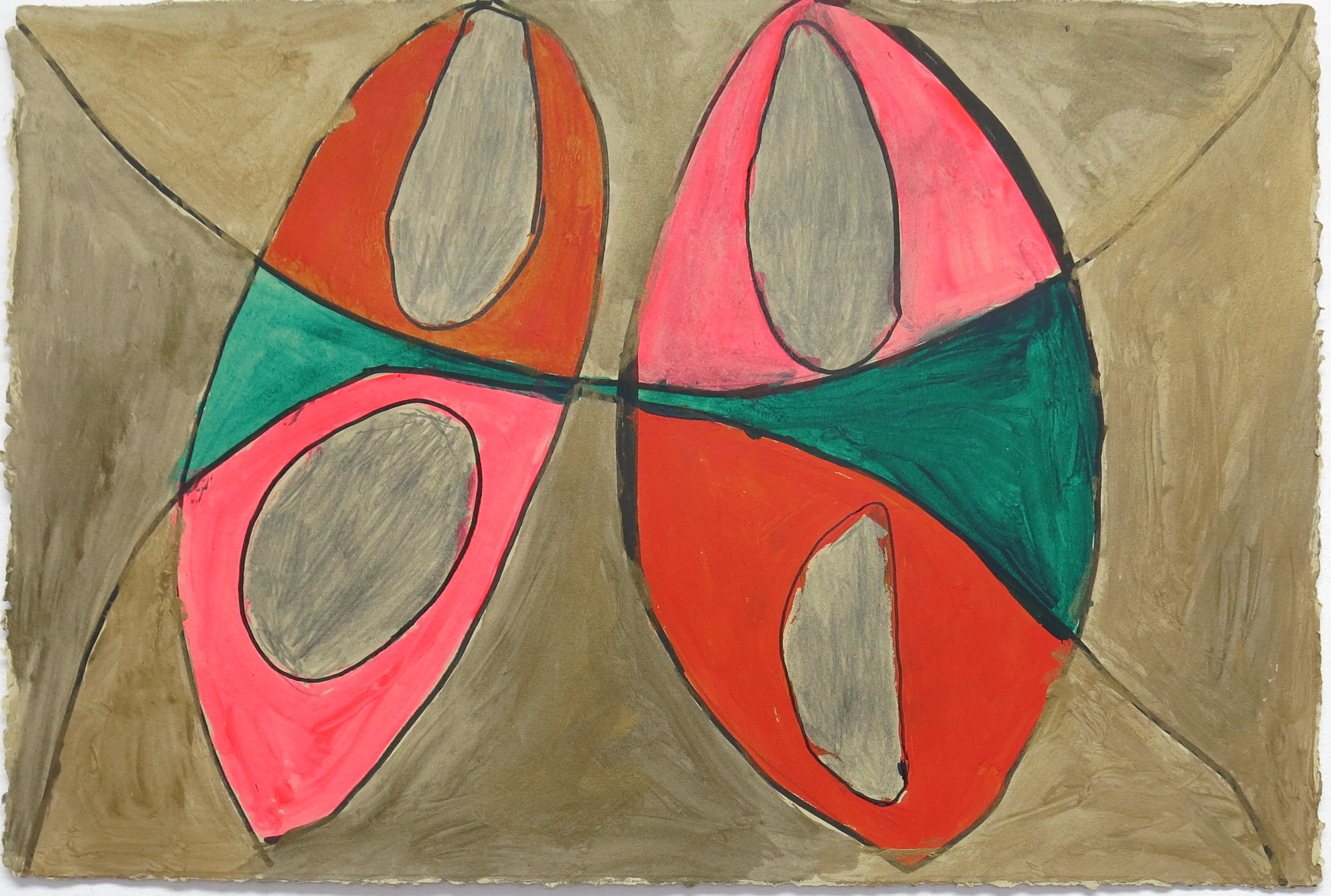 Allan Lofberg, Untitled (ALo 024), 2014, 15 x 22 inches