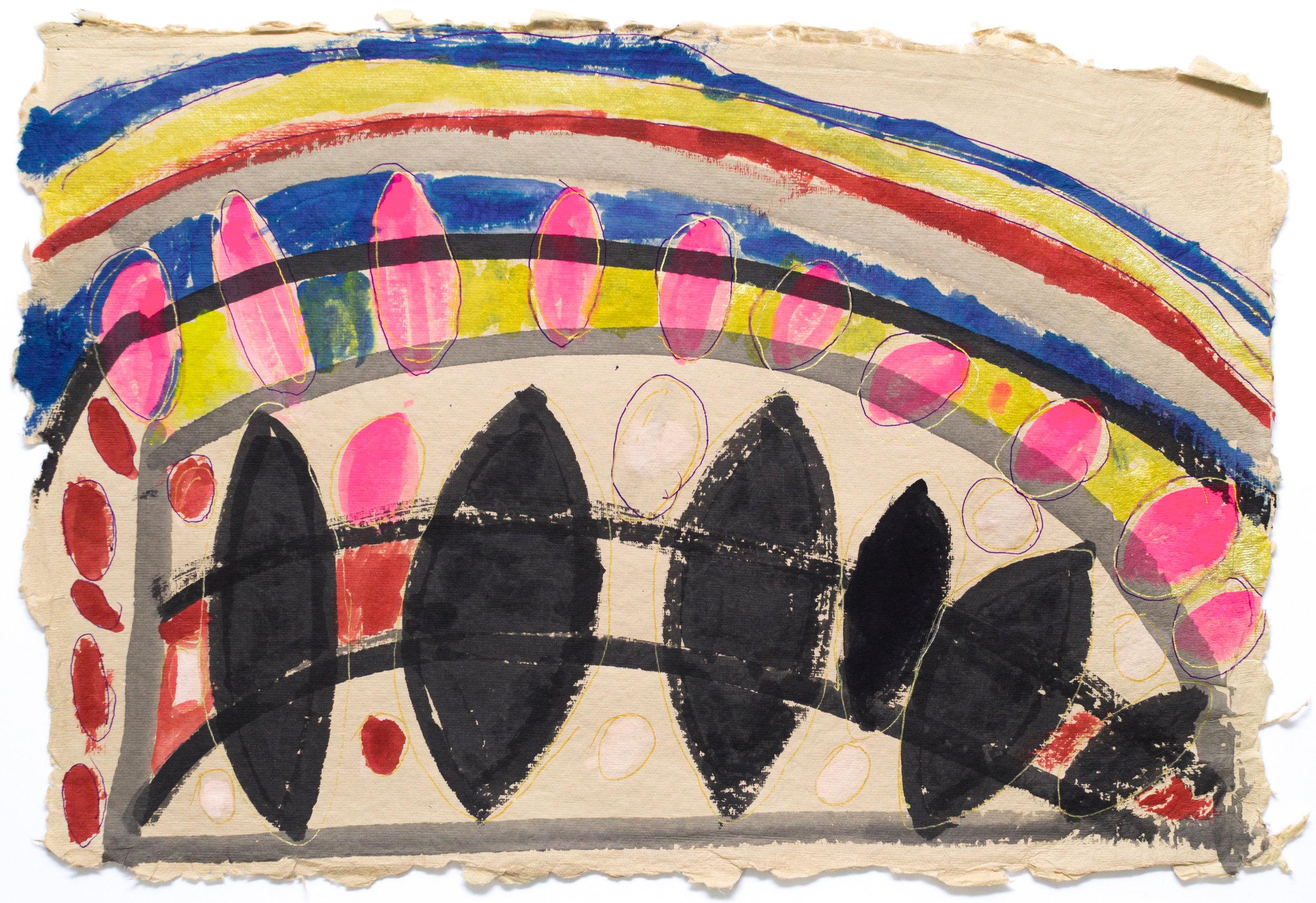Allan Lofberg, Untitled (ALo 072), 2018, 13 x 19 inches