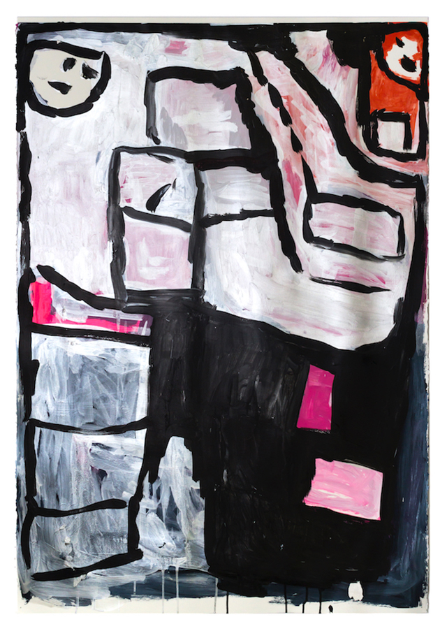 Donald Mitchell (Creative Growth), Untitled (DMi 552), 2019, Work on paper, 44 x 30.5 inches (111.8 x 77.5 cm)