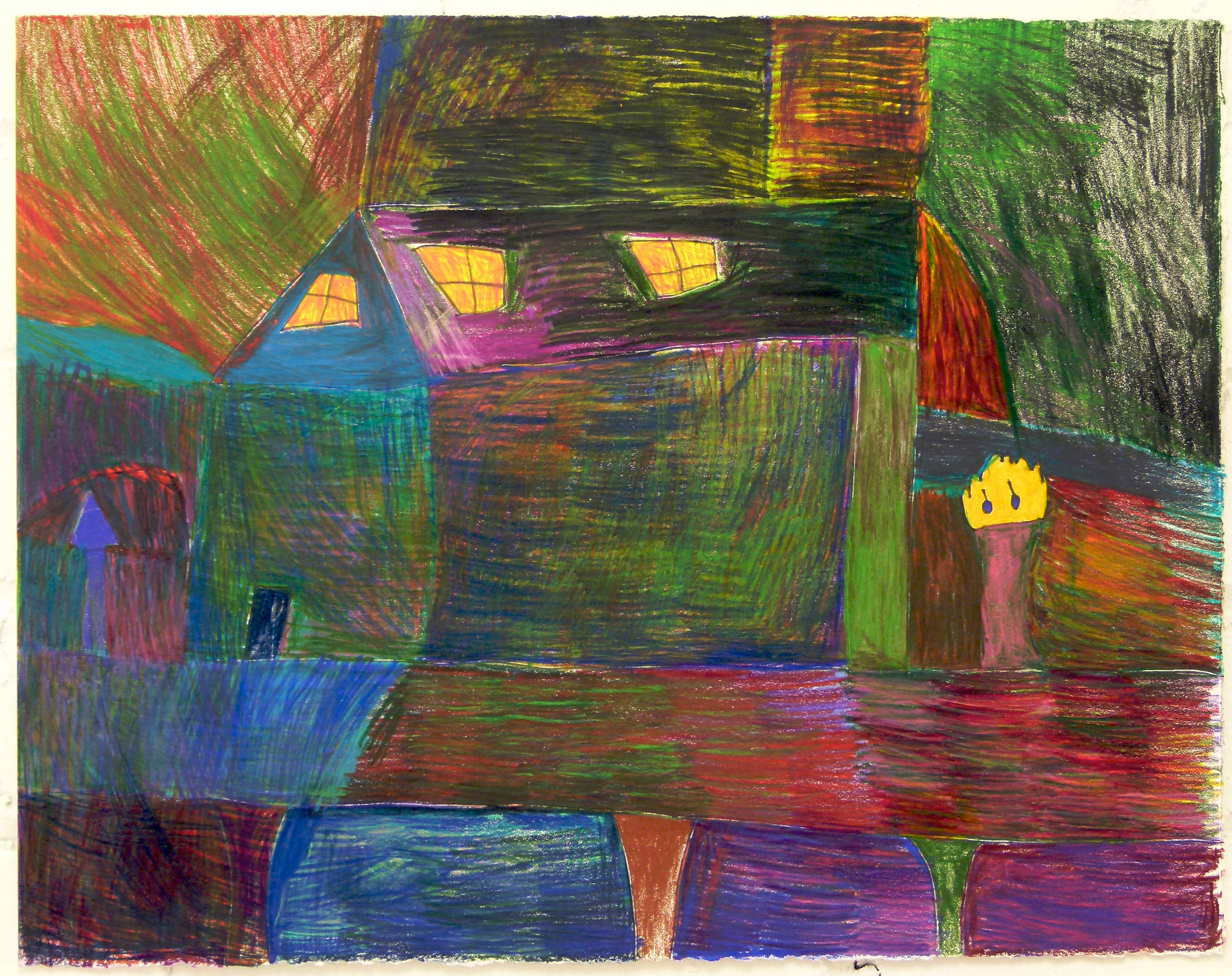 Francisco Andrade, Untitled (FA 002), Work on paper, 11.75 x 15 inches