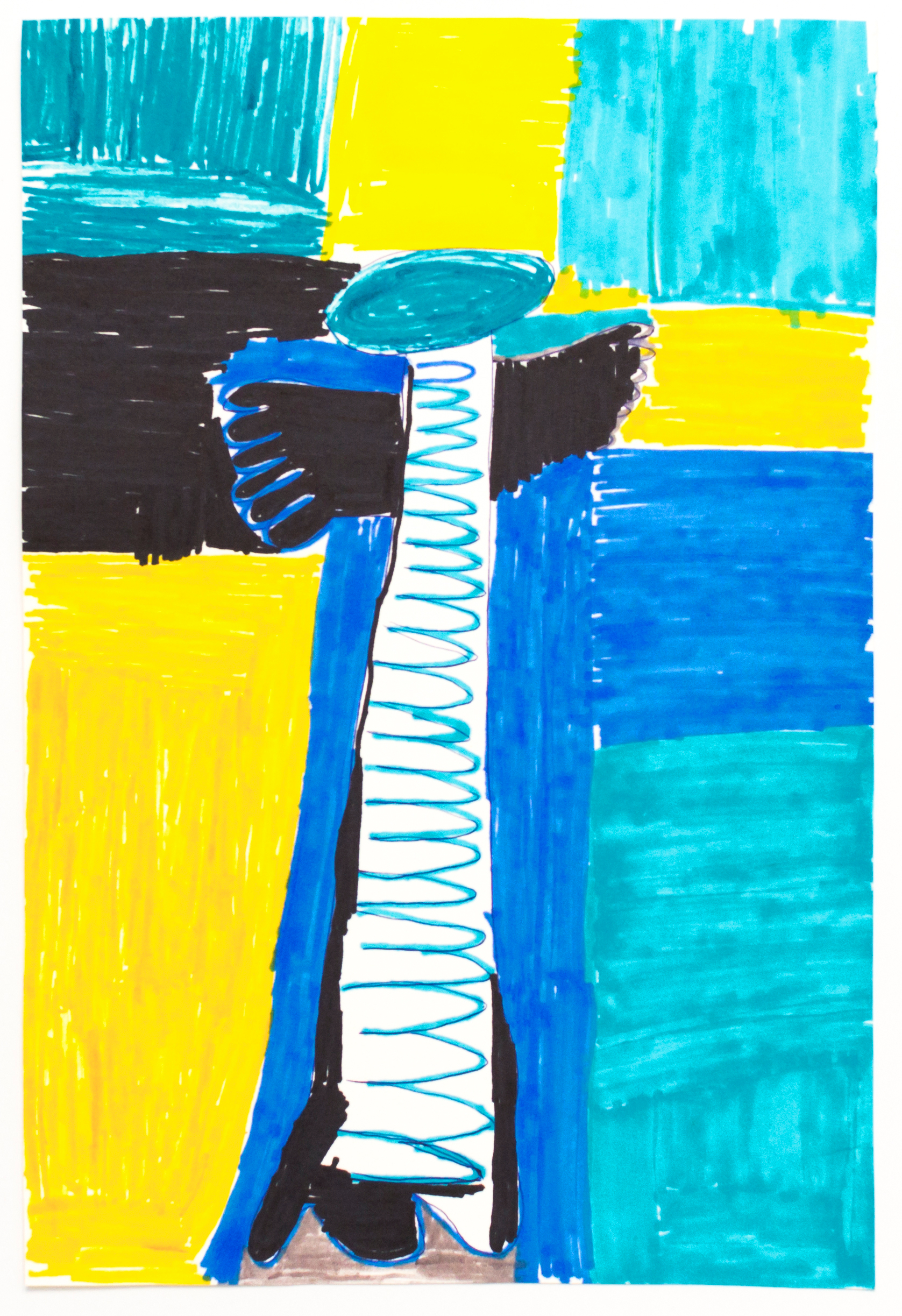 Chris Corr-Barberis, Untitled (CCB 022), 2018, Work on paper, 7.5 x 11 inches
