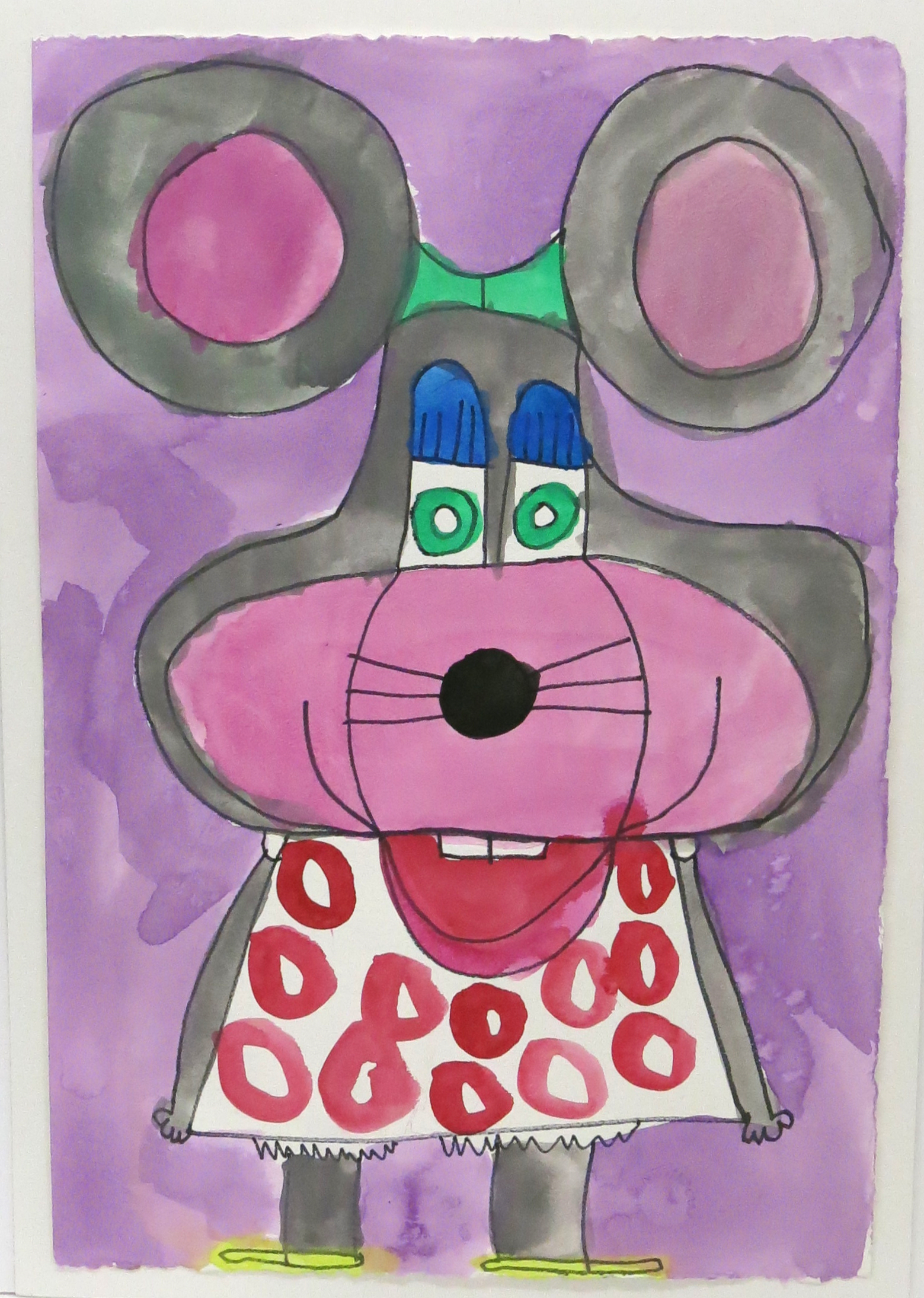 Jay Daley, Untitled (JD 064), 2015, Work on paper, 15 x 22 inches
