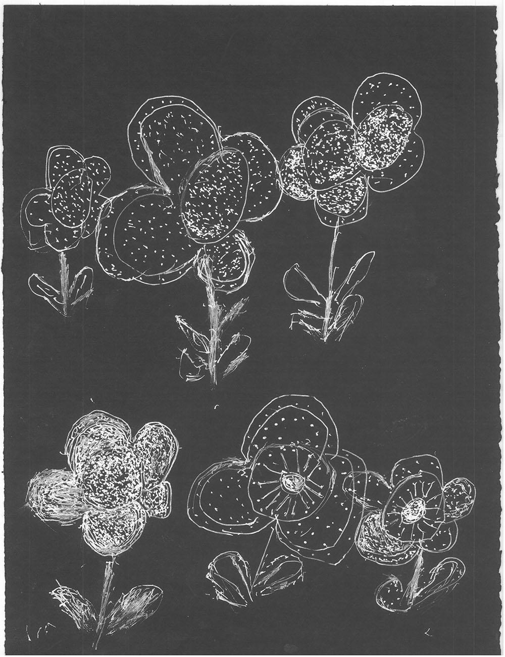 Darrel Davis, Untitled, Work on paper