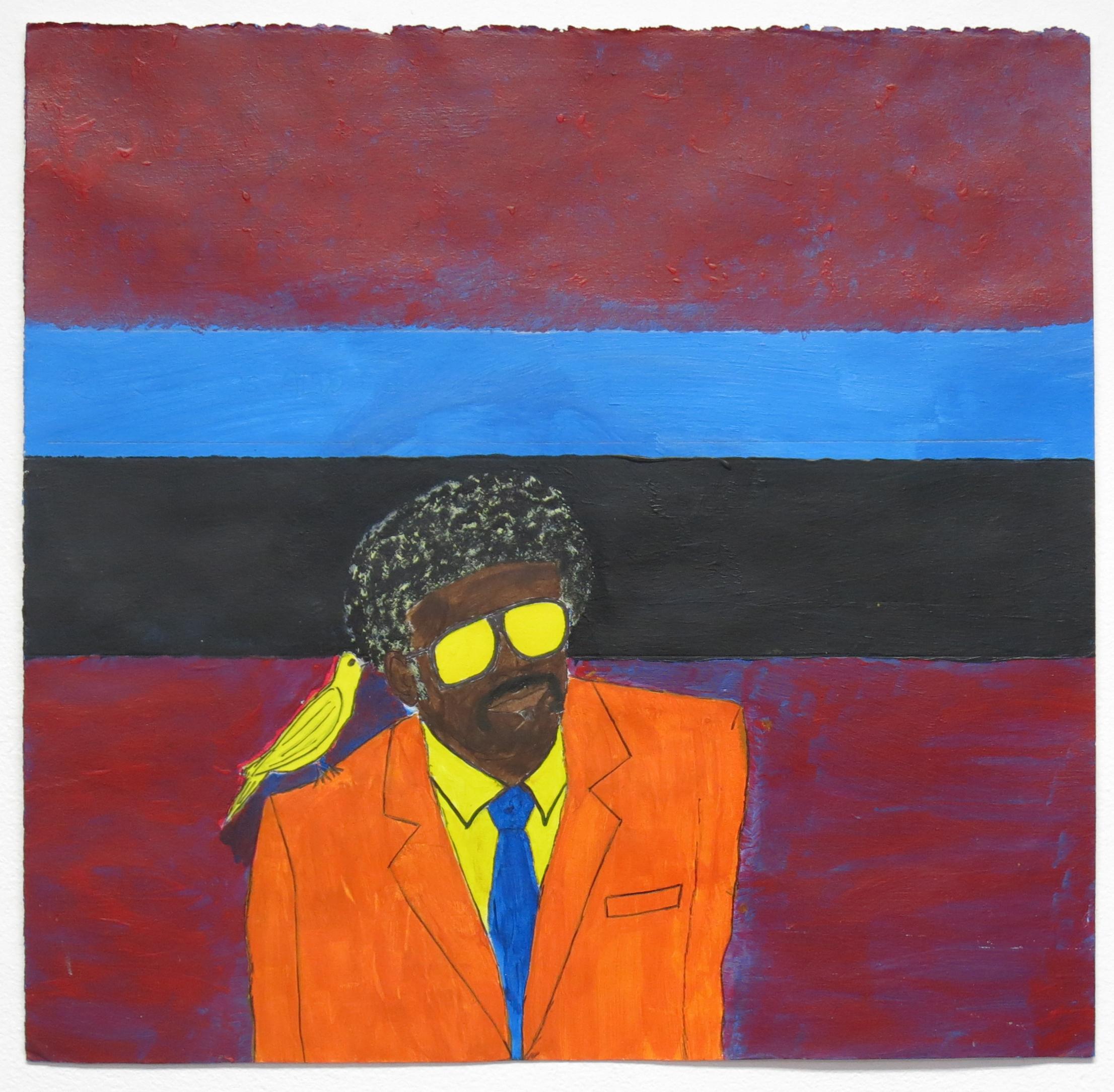 James Davis, Untitled (JDa 001), 2014, Work on paper, 14.5 x 15 inches
