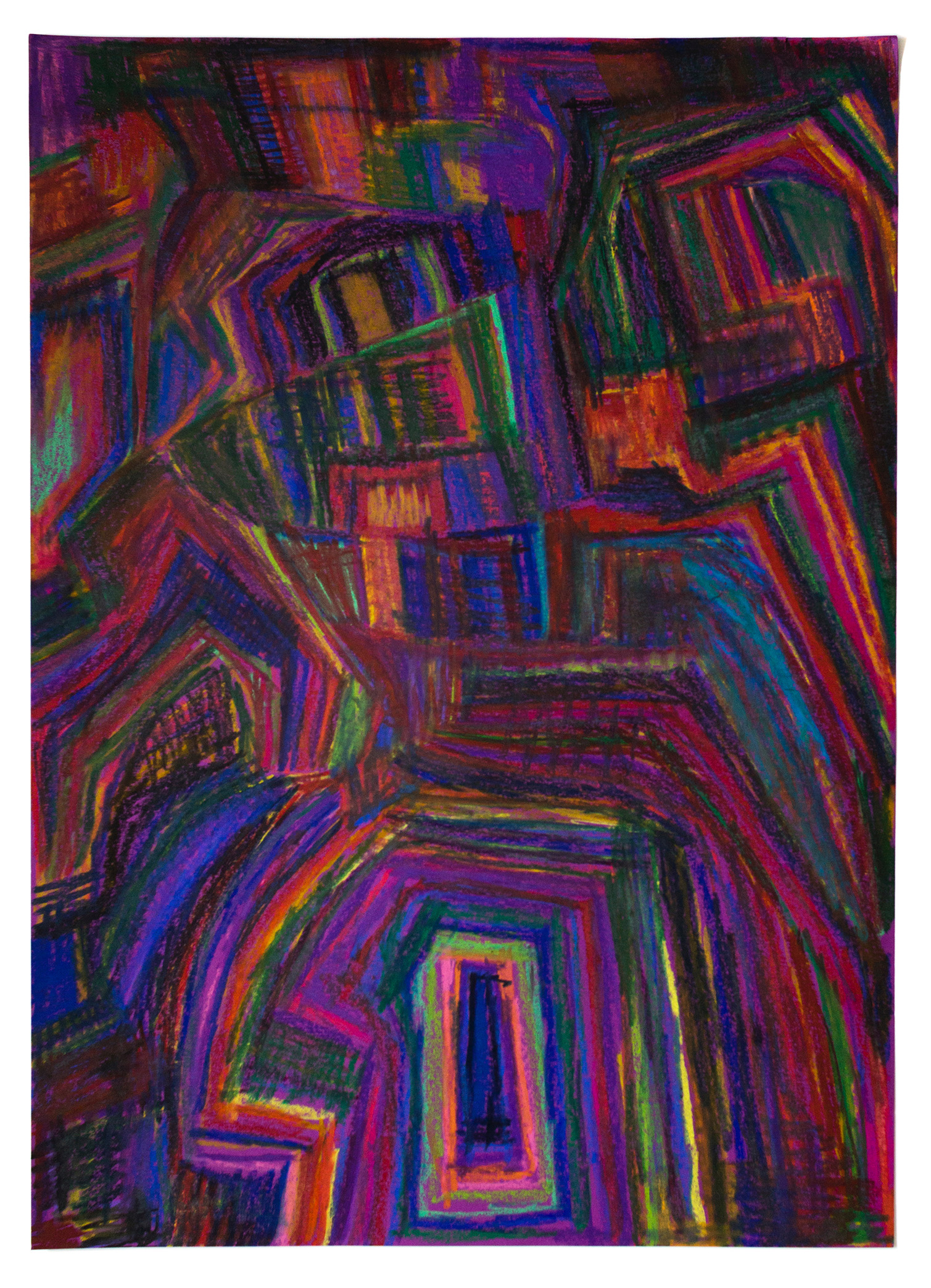 Raydell Early, Untitled (RE 027), Work on paper, 19.75 x 27.5 inches