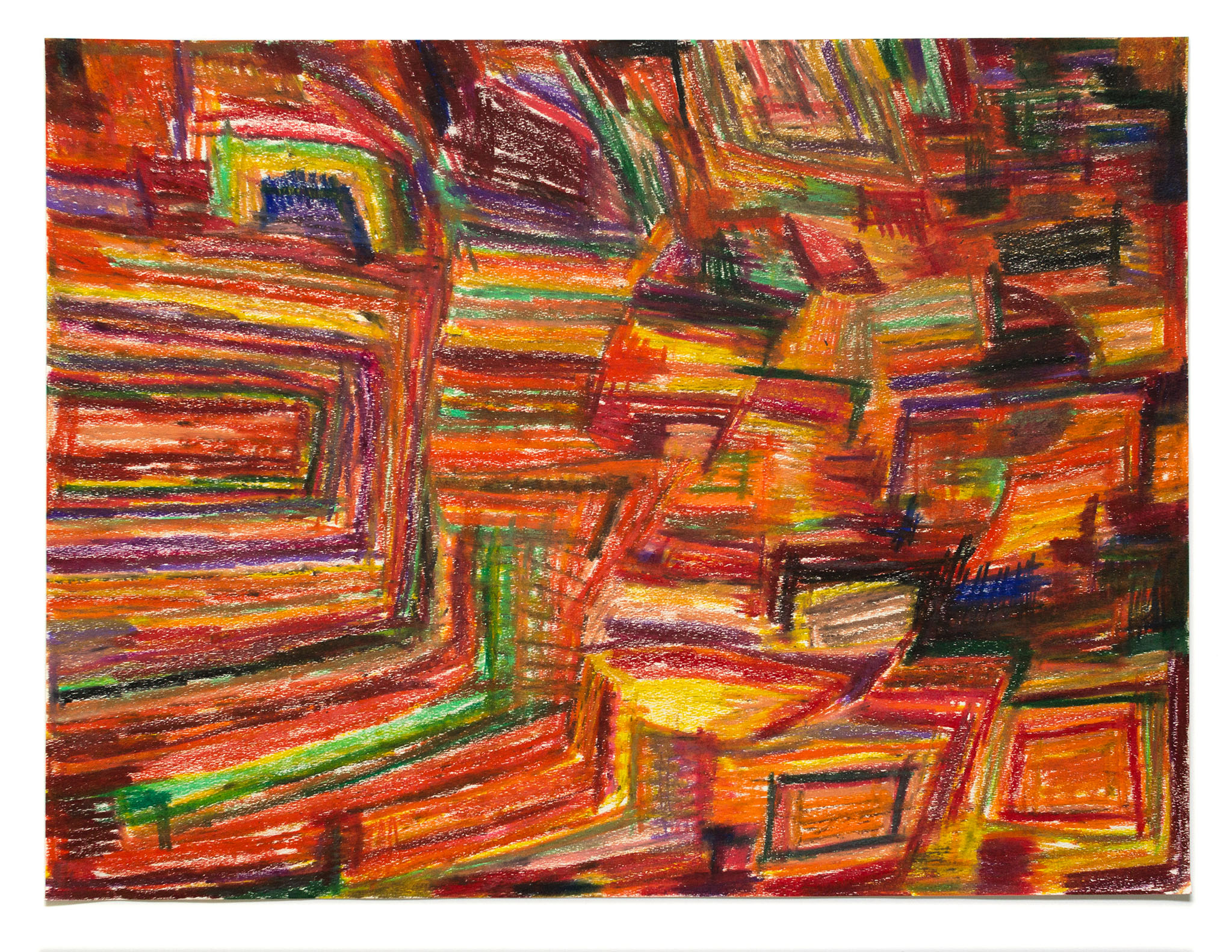 Raydell Early, Untitled (RE 025), Work on paper, 18 x 24 inches